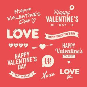 valentines day sticker sheets