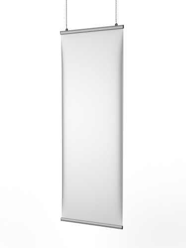 a blank Business Banner Stand