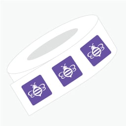 Rounded Corner Roll Label