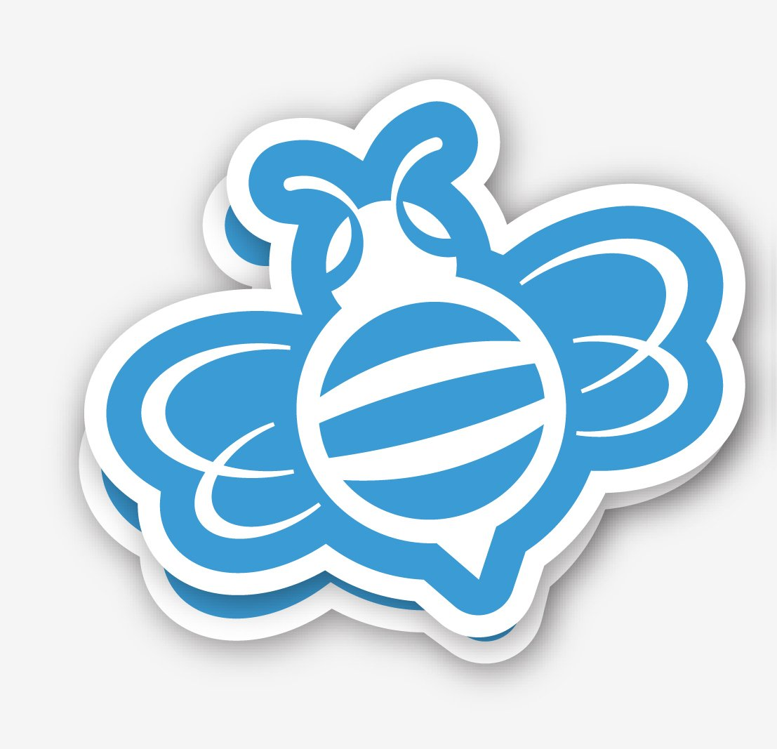 Printing Custom Stickers And Custom Magnets Blue Bee - Custom stickers and magnets